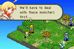 Final Fantasy Tactics Advance - Level First job - Oh no monsters - User Screenshot